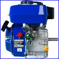 Portable 7 HP 3/4 inch Shaft Gas-Powered Recoil Start Engine 4 Stoke 1 Gal. Tank