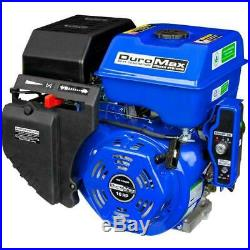 Portable Shaft Gas Powered Recoil/Electric Start Engine Duromax 16 HP 1 Inch