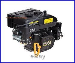 PowerLand Gas Engine PD200E 6.5HP Electric Start-Horizontal Shaft