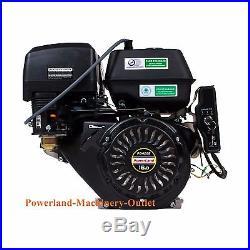 PowerLand PD420E 16HP Gas Engine Electric Start-Horizontal Shaft