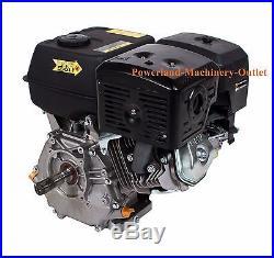PowerLand PD420 Recoil Start 16HP Gas Engine-Horizontal Shaft