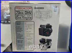 Predator 3 HP (79cc) OHV Horizontal Shaft Gas Engine New in box