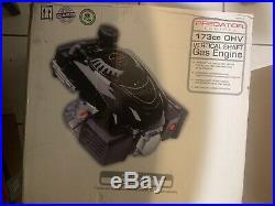 Predator Engines 173cc OHV Vertical Shaft Gas Lawn Mower Engine EPA/CARB Recoil