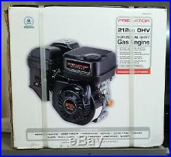 Predator Engines, 212cc OHV, Horizontal Shaft, Gas, 6.5HP Replacement NEW IN BOX