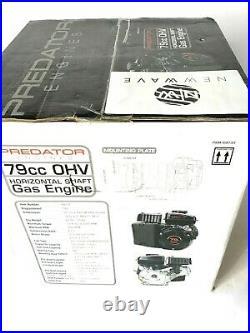 Predator Engines (79cc) OHV Horizontal Shaft Gas Engine #69733 Free Shipping