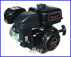 Predator Horizontal Shaft Gas Engine 6.5 HP, 212cc