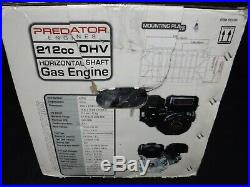 Predator Horizontal Shaft Go Cart Mini Bike Gas Engine 6.5 HP 212 CC New