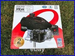 Rato 173cc 7/8 Vertical Shaft Engine For Lawn Mower Pressure Washer Log Splitter
