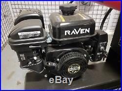 Raven Horizontal Gas Engine 6.5 HP 212cc OHV Electric Start Keyed Straight Shaft