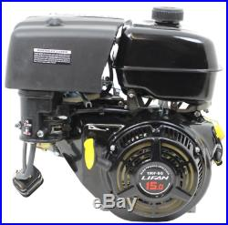 Recoil Start Horizontal Shaft Gas Engine Durable Design 1 In 15 HP 420Cc Ohv