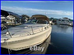Sea Ray 270 Sundancer, Newly Replaced Factory Mercruiser Engines