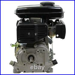 Shaft Gas Engine Horizontal LIFAN 5/8 in. 3 HP 97.7cc OHV Recoil Start Quieter
