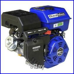 Shaft Portable Gas-powered Recoil Start Engine Duromax Portable 16 Hp 1 in