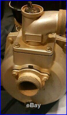 Side Shaft Horizontal 3.5hp HONDA GAS ENGINE 120cc GX120 water pump