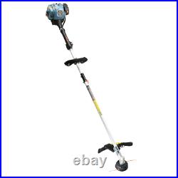 Straight Shaft Trimmer 26.5 cc Gas with 4-Cycle Engine and Attachment Capable