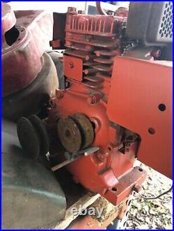 Tecumseh 5hp Gas Engine Vintage Motor For Go Cart Kart Or Minibike Twin Shaft