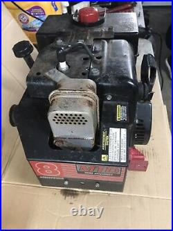 Tecumseh HMSK80-155545U Snowblower Engine Motor 8HP Duel Output Shaft Runs Well