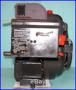 Tecumseh Hs50 5hp Engine Horizontal Shaft Used