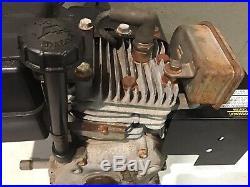 Tecumseh Snow Blower Engine 5hp HSSK50 Single Shaft Tested Runs Smooth
