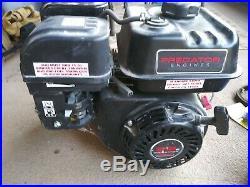 Torque Converter & Predator Horizontal Shaft Gas Engine 6.5 HP, 212cc