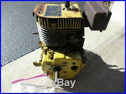 USED Tecumseh Engine Short Block snowBlower John Deere 1032 3/4 shaft