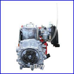 US 49cc 4-Stroke GAS MOTORIZED Bike Engine MOTOR KIT Chain Drive PTO shaft side