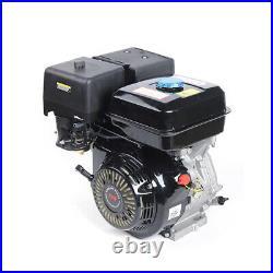 Used 15HP 420CC 4 Stroke OHV Single Horizontal Shaft Air cooling Gas Engine 110v