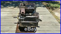 Vintage 1974 3 HP Briggs & Stratton Horizontal Shaft Engine Model 80232