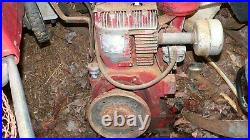 Vintage CLINTON Gas Engine Model 420 1301 009 Horizontal Shaft 9.6 Horsepower