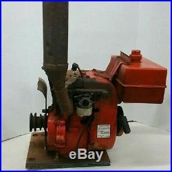 Vintage Tecumseh Horizontal Shaft Engine mower go kart