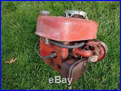 Vintage V60 Tecumseh Engine For Wheel Horse Tiller Garden Travtor Vertical Shaft