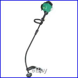 Weed Eater 25cc 2-Cycle Engine 17 Curved Shaft Gas Trimmer Feather Lite