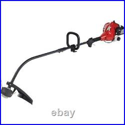 Weed Eater Grass Trimmer Cutting Tool Curved Shaft Gas Lawn Garden Best 2 Cycle
