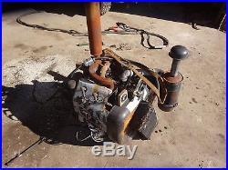 Wisconsin VH4D1 Gas Engine RUNNER! VH4D COMPLETE LONG SHAFT! Target Saw Vermeer