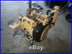 Wisconsin W4-1770 Gas Engine RUNNER! Vermeer Stump Grinder LONG SHAFT VH4D