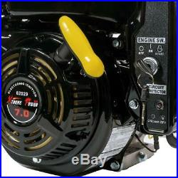 XtremepowerUS 7HP 3/4 In. Horizontal Shaft Electric Start/ Recoil Gas Engine